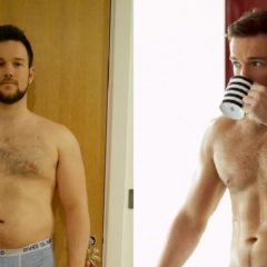 """MAN CANDY: """"Fat"""" 'Britain's Got Talent' Star goes from Muffin-Top to Stud Muffin"""