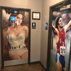 Restaurant Uses Before & After Transition Photos of Caitlyn Jenner to Identify Bathrooms