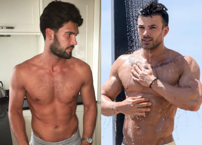 Drop the Soap: Dan Edgar, Mike Hassini hit the Showers in TOWIE [NSFW-ish]