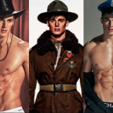 Pietro Boselli is… The Village People