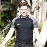 Olly Murs' Bulge Spotted Leaving a Gym in LA