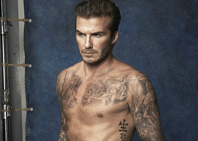 MAN CANDY: David Beckham (and his hot body) Return For H&M