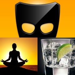Great Wall of Grindr: Yoga & Gin