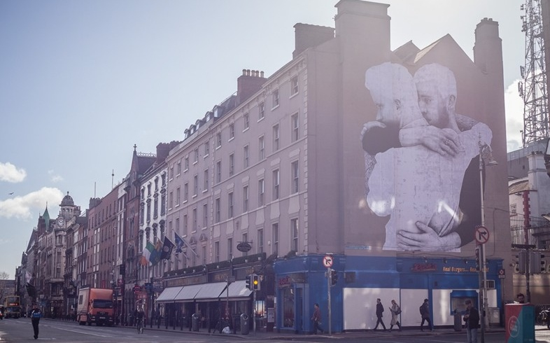 Pro-Marriage Equality mural in Dublin
