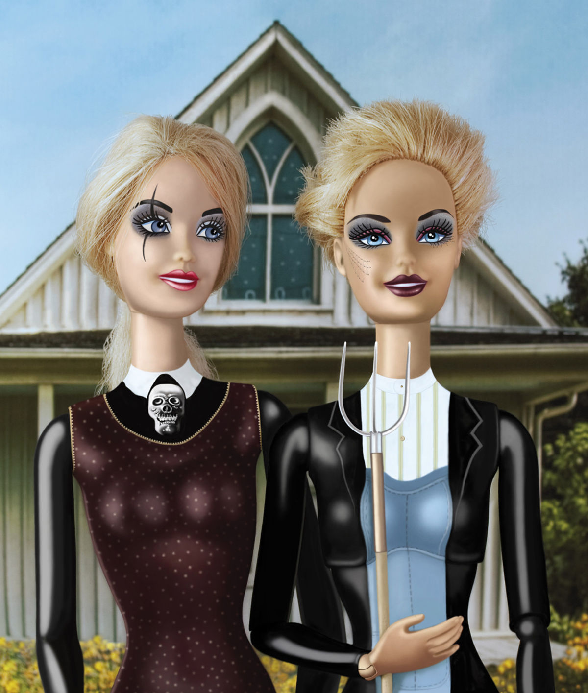 barbie-american-goth-grant-wood