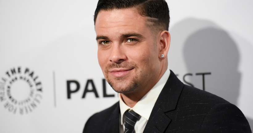 "Mark Salling arrives at the 32nd Annual Paleyfest : ""Glee"" held at The Dolby Theatre on Friday, March 13, 2015, in Los Angeles. (Photo by Richard Shotwell/Invision/AP)"