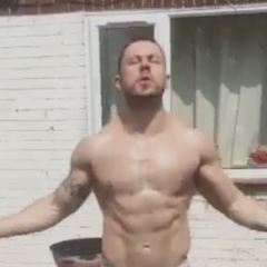 VIRAL: Buff Hunk Goes Commando While Skipping in the Garden [NSFW]