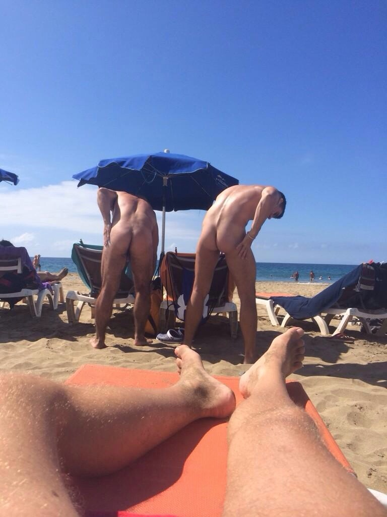image Naked gay men sunbathing these dudes want