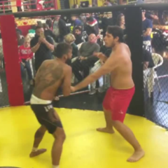 VIRAL: Italian Fighter Accidentally Exposes Opponent's Peen During Fight [NSFW]