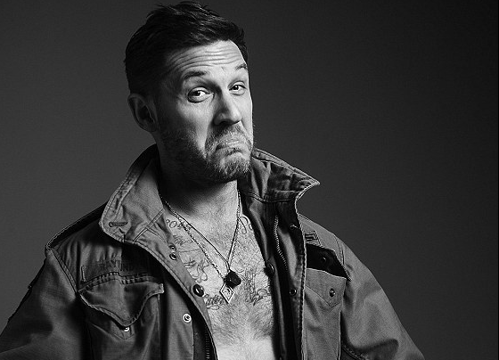 MAN CANDY: Hunky Tom Hardy Flaunts Inked Body for Seductive Esquire Shoot