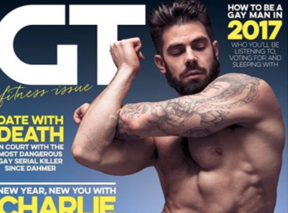 MAN CANDY: TOWIE's Charlie King has a Lot of Front in New Underwear Shoot