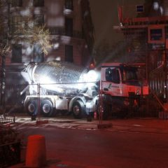 VIRAL: Disco Ball Cement Mixer is the most Fabulous thing You'll See Today [Video]