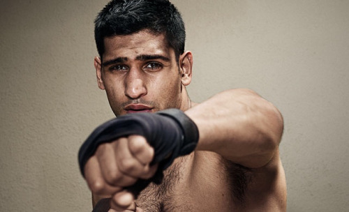MAN CANDY: Amir Khan Cums Out Swinging as Skype Tape gets Leaked [NSFW]