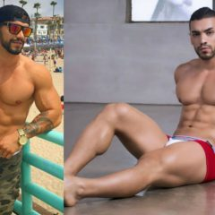 This Hunky Iranian Soldier Escaped his Country on Foot and now Works as an Underwear Model