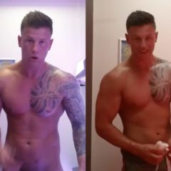 VIRAL: Sexy Straight Porn Stud Jack Wilson's Will Wag will have You Feeling the Heat [NSFW]