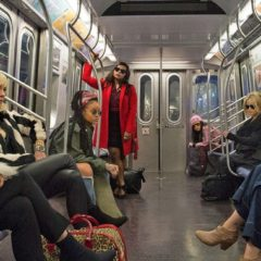 Next Stop: Queens! All-Star Female Cast of 'Ocean's 8' on Subway Arrives