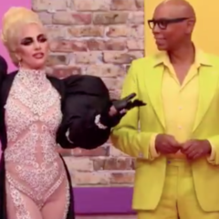 No, That's Not a Drag Queen! Lady Gaga Appears on Ru Paul as Guest Judge!