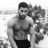 MAN CANDY: Lucien Laviscount is Smoking Hot in Rooftop Underwear Shoot