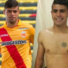 MAN CANDY: Uruguayan Footballer Martin Alaniz gets his Balls Out [NSFW]