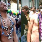 It Must be Mardi Gras! Men Flash for Beads During Street Festival [NSFW]