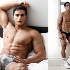 MAN CANDY: Pietro Boselli is BENCHED & Buff Modelling Briefs