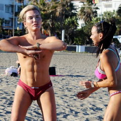 GOSSIP: Plastic Man with Fake Abs Plans to Become Fitness Model – Erm, OK!