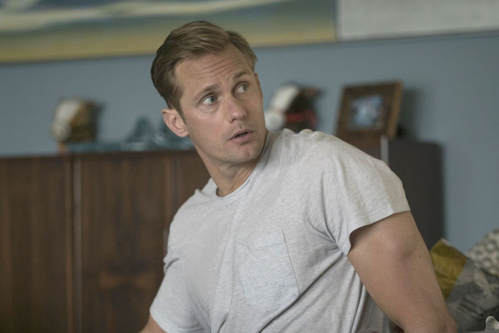 MAN CANDY: Alexander Skarsgard's Full Frontal Scene on 'BIG Little Lies' [NSFW]