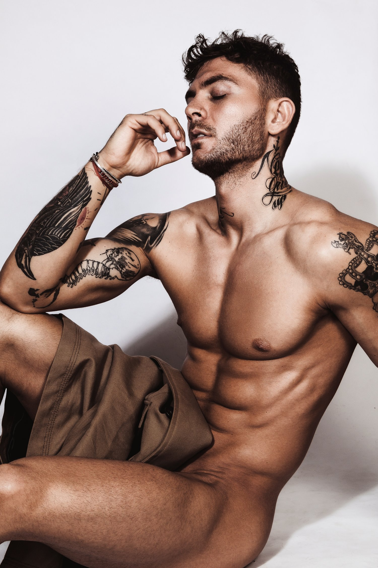 inked stud panayiotis karagianis is a knockout wearing