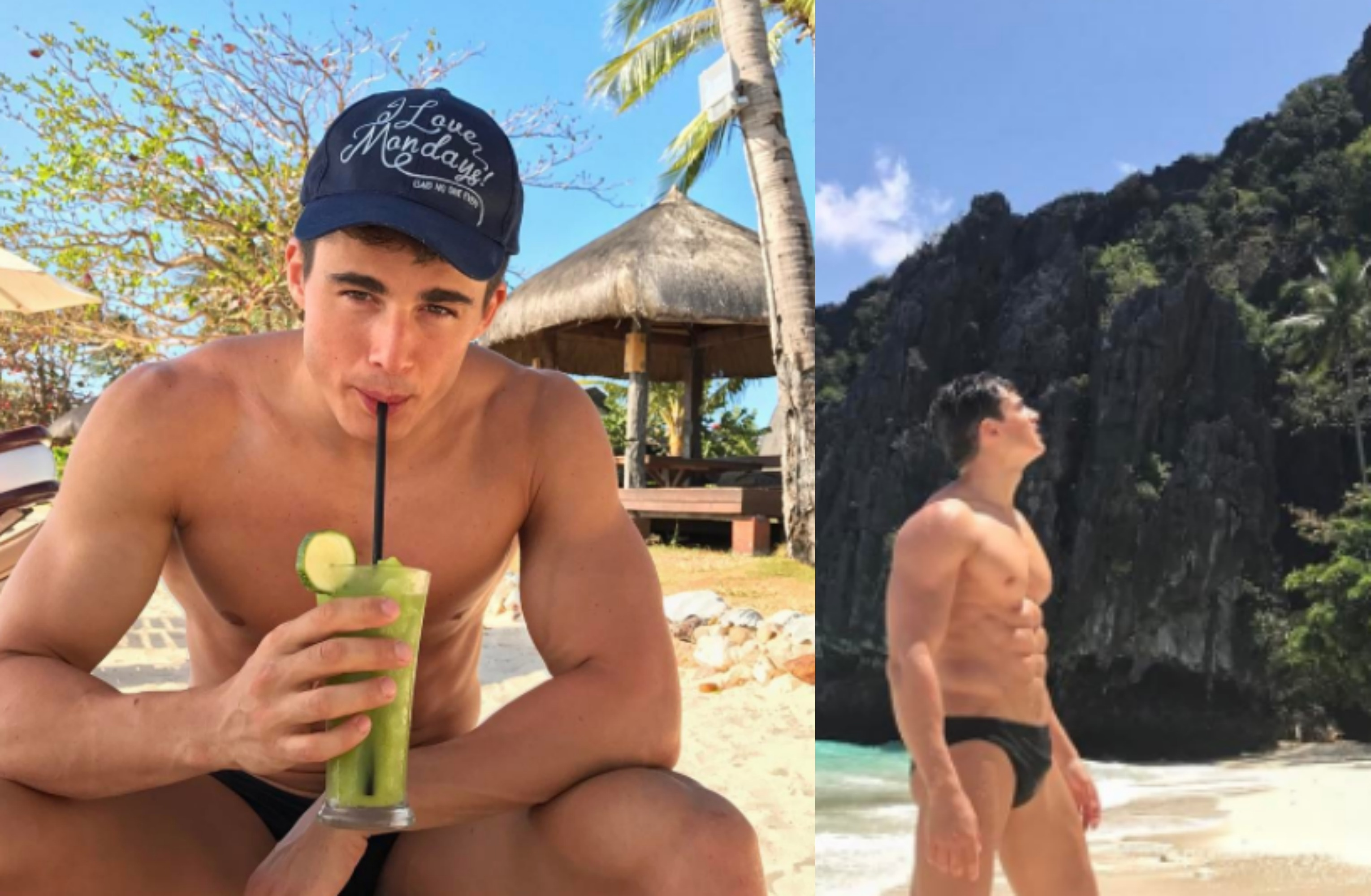 "MAN CANDY: ""Wish we were There!"" Pietro Boselli's Sizzling Holiday Snaps"
