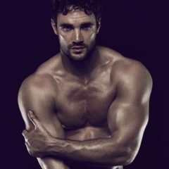 MAN CANDY: Rugby Stud & Underwear Model Thom Evans Strips Naked for Charity [NSFW-ish]