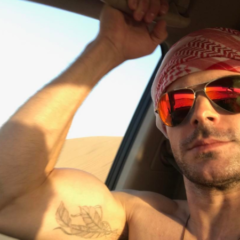 MAN CANDY: Zac Efron Rides a Camel in the Desert – but we're the Ones Who're Thirsty