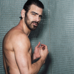 MAN CANDY: Nyle DiMarco Strips Naked for Steamy shower Shoot [NSFW-ish]