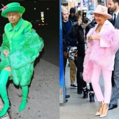 VIRAL: Artist Photoshops Queen onto RiRi's Racy Outfits – and it's MAJOR!