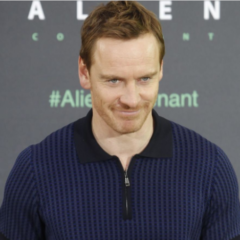 MAN CANDY: Michael Fassbender Promotes New Movie with Extra Tight Pants