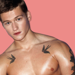MAN CANDY: Lush London Model Sam Lawson's looks even Better Without Clothes [NSFW]