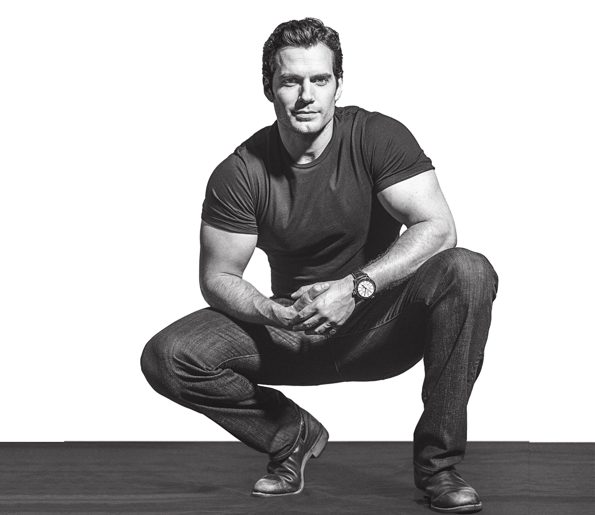 man candy henry cavill is just as sexy in and out of his