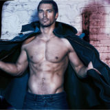 MAN CANDY: Model David Gandy goes Leather Daddy in Kinky Shoot