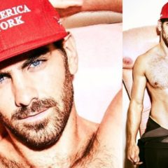 MAN CANDY: Nyle DiMarco eats a Banana, Trampolines in Underwear for Paper Mag [Video]