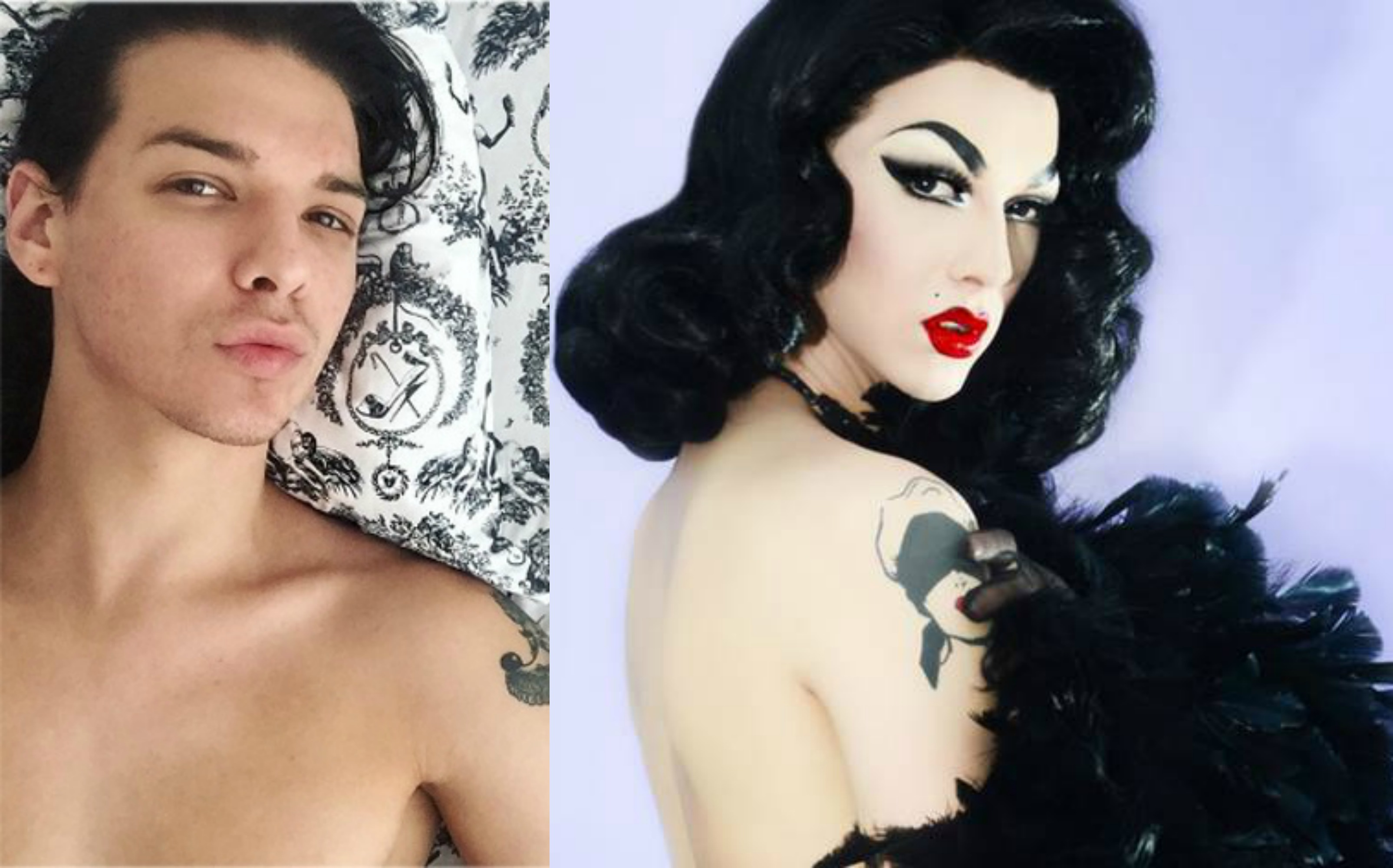 Category is: Sex Tape Realness -- Starring 'Ru Paul's Drag Race' Winner Violet Chachki [NSFW]