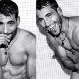 MAN CANDY: Miguel Angel Silvestre looks Sense8-tional as he hits Showers for GQ