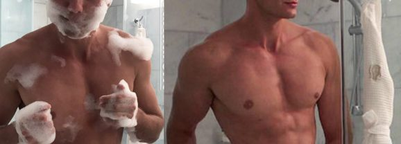 MAN CANDY: French Model Charles Laurent Marchand Showering will Steam Up Your Windows [NSFW-ish]