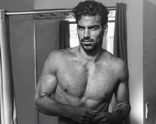 MAN CANDY: Nyle Di Marco Flaunts his Visible Peen Line in Tight Undies