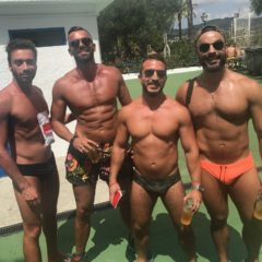 COVERAGE: Check out the Hot Guys (and Their Tiny Speedos) from Barcelona Circuit's Waterpark