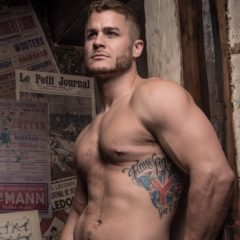 MAN CANDY: Austin Armacost Poses in See-Through Underwear [NSFW-ish]