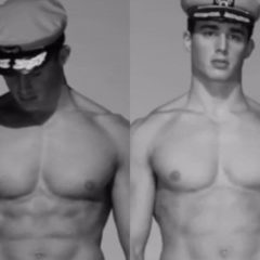 MAN CANDY: Pietro Boselli Dressed as a Skimpy Sailor will Have You Saying 'AHOY MATEY!'