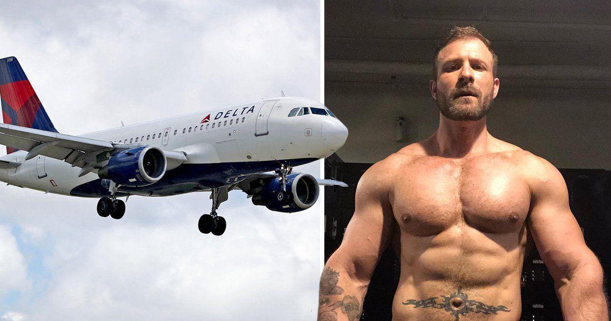 Delta Airways in Panic as Austin Wolf Mile High Sex Tape ...