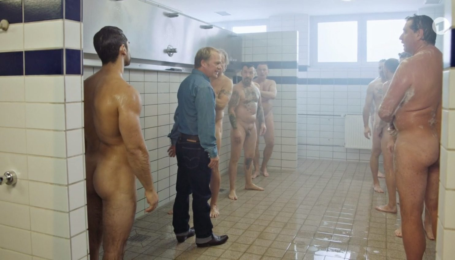 Cute Nude Guys In Locker Room
