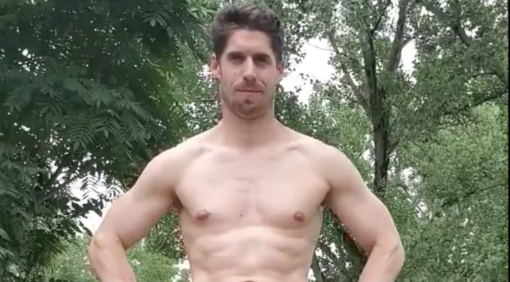 NSFW: This farmer's hard bod (amongst other things) will have you clucking
