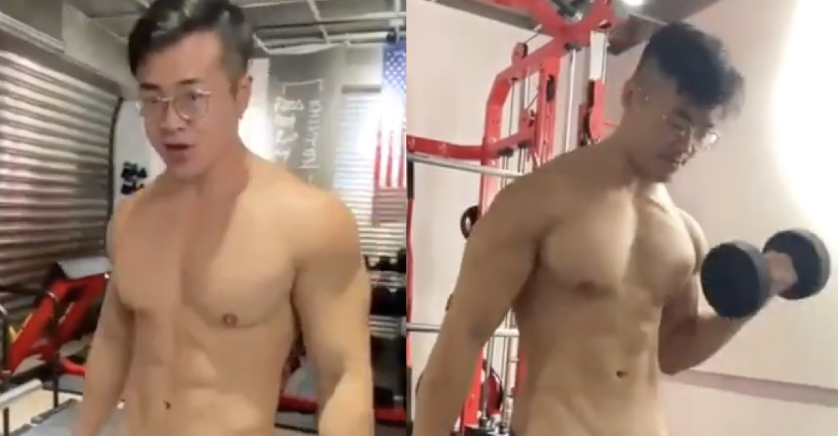 This guy's workout that'll get you rock hard