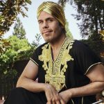 """Perez Hilton wears a turban for his """"clean slate"""" interview with Sunday Times"""